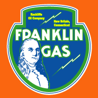"Franklin Gas Decal 2 @ 12"" Wide by 13"" Tall, $30.00 Each"