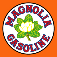 "Magnolia Gasoline Decal @ 12"", $30.00 Each"
