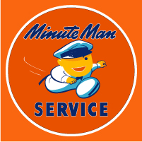 "Minute Man Service @ 12"", $30.00 Each"