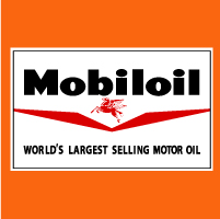 "Mobiloil @ 17.5"" Wide x 10.5"" Tall, $40.00 Each"