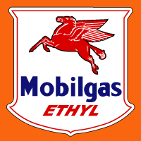 "Mobilgas Ethyl @ 12"", $30.00 Each"
