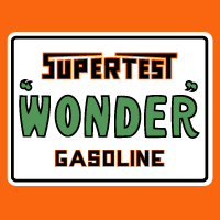 "Supertest Wonder Decal 2 @ 12"" Wide, $30.00 Each"