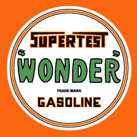 "Supertest Wonder Decal @ 12"", $30.00 Each"