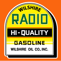 "Wilshire Radio Hi-Quality Tombstone @ 12"" Wide, $30.00 Each"