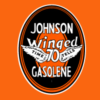 "Johnson Winged 70 Decal 2 @ 12"" Tall, $30.00 Each"